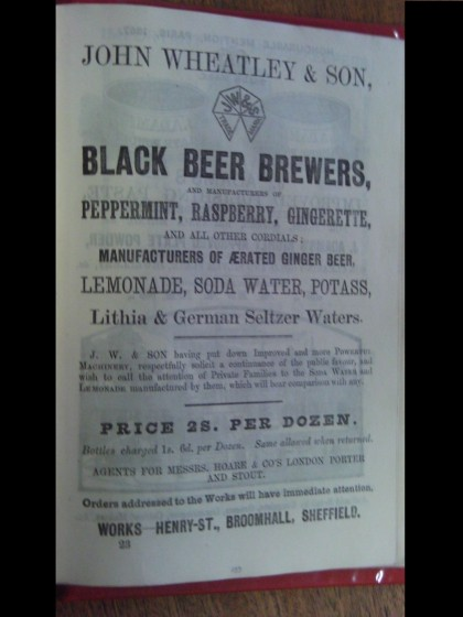 Advert for Black Beer Brewers | Photo: SALS