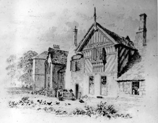 'Engraving of Broom Hall, Broomhall Road' by E. Blore, 1818 (PS s05436)