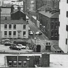 Bowdon Street, early 1970s.   Photo: Edward Mace
