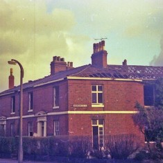 Corner of Broomgrove Crescent, early 1970s.   Photo: Edward Mace