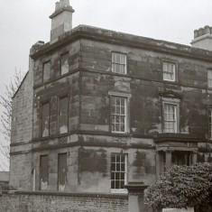 House on Broomhall Place, early 1970s.   Photo: Edward Mace