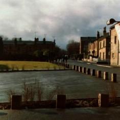 Broomhall Street from St Silas church, early 1970s.   Photo: Edward Mace