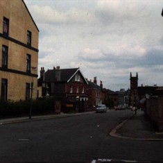 Broomhall Street and St Silas, early 1970s.   Photo: Edward Mace