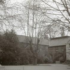 Side aspect of Broom Hall, early 1970s.   Photo: Edward Mace