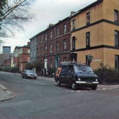 Corner of Warncliffe Road and Broomhall Street, 1970s.   Photo: Edward Mace