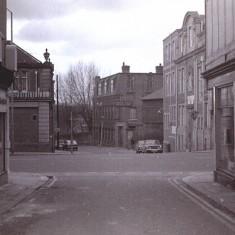 West Street crossing Cavendish Street, 1970s.   Photo: Edward Mace