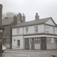 Hanover Pub, 1970s.   Photo: Edward Mace