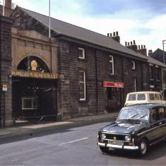 Sheaf Brewery, Ecclesall Road. 1970s.   Photo: Edward Mace