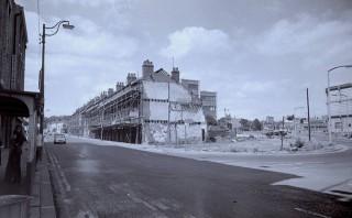 Demolition, Ecclesall Road. 1970s. | Photo: Edward Mace
