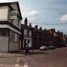 Hanover Pub, corner of Clarke Street. 1970s.   Photo: Edward Mace