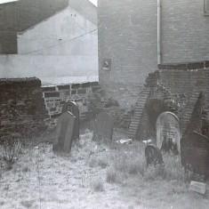 Jewish Cemetery, Bowdon Street. 1970s.   Photo: Edward Mace
