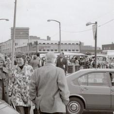 Moorfoot Market, 1970s.   Photo: Edward Mace