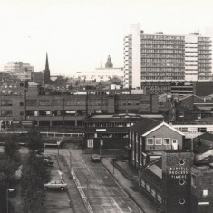 Egerton St and Fitzwilliam St, May 1978   Photo: Tony Allwright