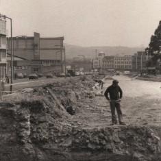 Building of new subway on Hanover Way, November 1977 | Photo: Tony Allwright