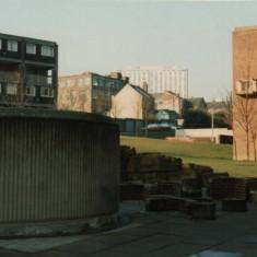 Exeter flats playground, February 1980 | Photo: Tony Allwright
