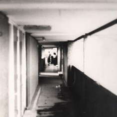 Walkway, Broomhall Flats. May 1978 | Photo: Tony Allwright