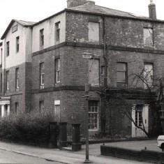 Building on Brunswick St (now demolished), May 1978 | Photo: Tony Allwright