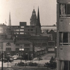 Town Hall from Broomhall Flats, September 1977 | Photo: Tony Allwright