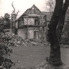 Restoration of Broom Hall from Broomhall Rd, May 1979 | Photo: Tony Allwright