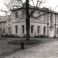 Restoration of Broom Hall, May 1979   Photo: Tony Allwright