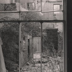 Derelict house, Upper Hanover St, May 1979   Photo: Tony Allwright