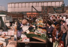 Tony Allwright Photo Gallery: Moorfoot Market, 1980