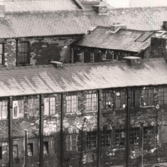 Beehive Works, Milton St, from Broomhall Flats. May 1979 | Photo: Tony Allwright