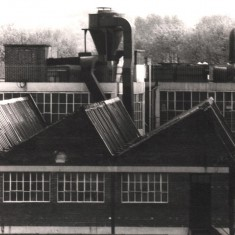 Viners factory from Broomhall Flats, May 1979   Photo: Tony Allwright