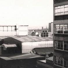 View from Broomhall Flats, May 1978   Photo: Tony Allwright