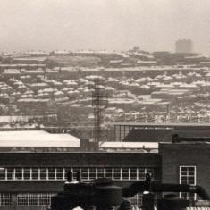 St Mary's Church and Bramall Lane, January 1978 | Photo: Tony Allwright