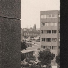 View from Broomhall Flats towards city centre, August 1977 | Photo: Tony Allwright