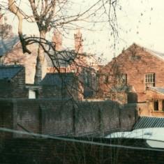 Broomhall back yards, January 1980   Photo: Tony Allwright