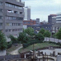 Broomhall Flats play area, July 1978 | Photo: Tony Allwright