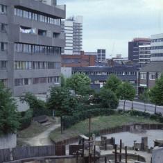 Broomhall Flats play area, July 1978 | Photo: Tony Allwright