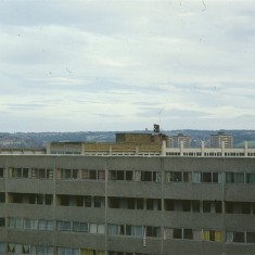 Broomhall Flats skyline. July 1978 | Photo: Tony Allwright