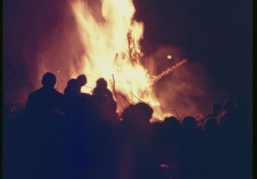 Tony Allwright Photo Gallery: Bonfire night, 1976
