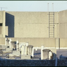 Broomhall Flats roof, July 1978 | Photo: Tony Allwright