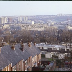 City view from Glossop Rd, December 1978City view from Glossop Rd, December 1978 | Photo: Tony Allwright