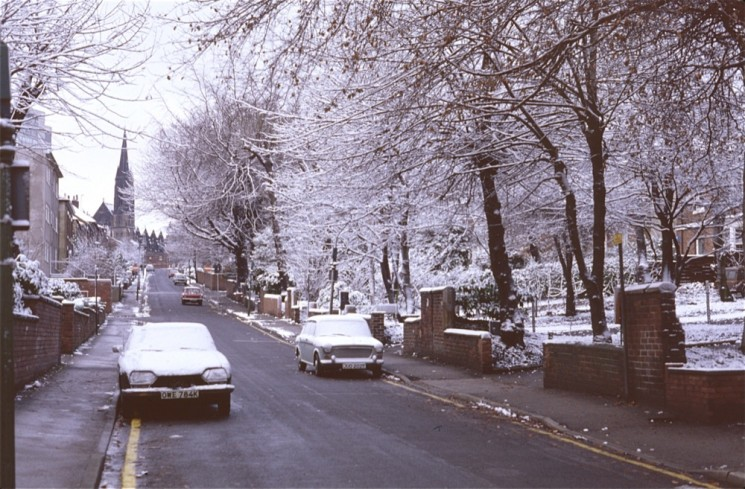 Wilkinson St with snow, January 1979 | Photo: Tony Allwright