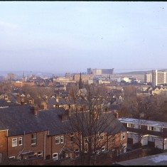 View across Broomhmall, December 1978 | Photo: Tony Allwright