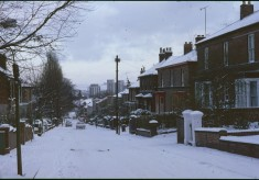 Tony Allwright Photo Gallery: Wilkinson St in the snow, 1979