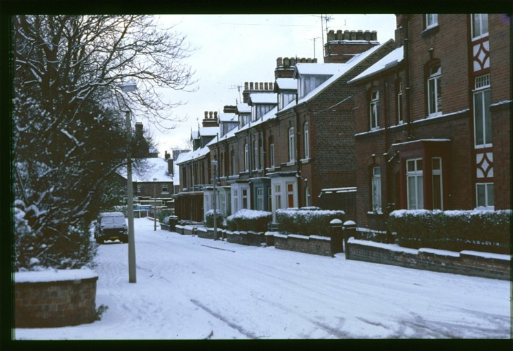 Wilkinson St in the snow, January 1979 | Photo: Tony Allwright