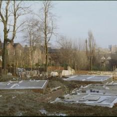Broomspring Lane / Dorset St building site, January 1979 | Photo: Tony Allwright