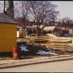 Broomspring Lane building site, April 1979 | Photo: Tony Allwright