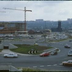 Ecclesall Rd / Hanover Way roundabout, September 1979 | Photo: Tony Allwright