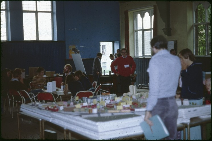 Planning for Real model, Broomhall Centre, August 1979 | Photo: Tony Allwright
