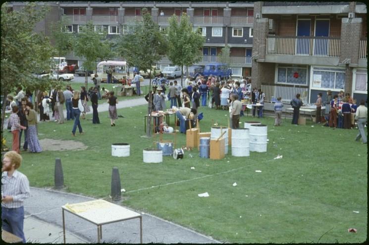 Broomhall summer fair, Hanover Flats. September 1979 | Photo: Tony Allwright