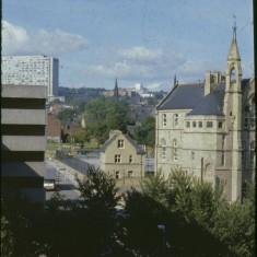 Springfield School and Hallamshire Hospital, September 1979 | Photo: Tony Allwright