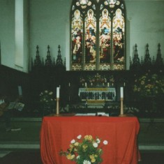 Easter at St Silas. 1980s | Photo: Mary Roberts