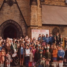 St Silas Holy Week. 1970s | Photo: Mary Roberts